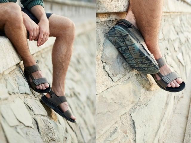 今年最夯的運動風涼鞋,適合喜愛親近大自然的爸爸。