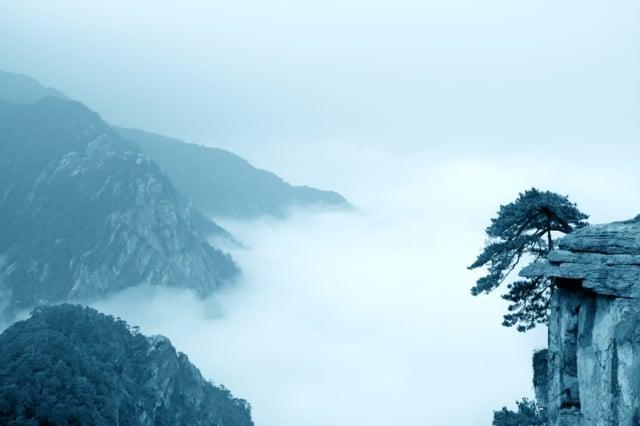 身在此山中,是多麼地雲深不知處啊!(Fotolia)