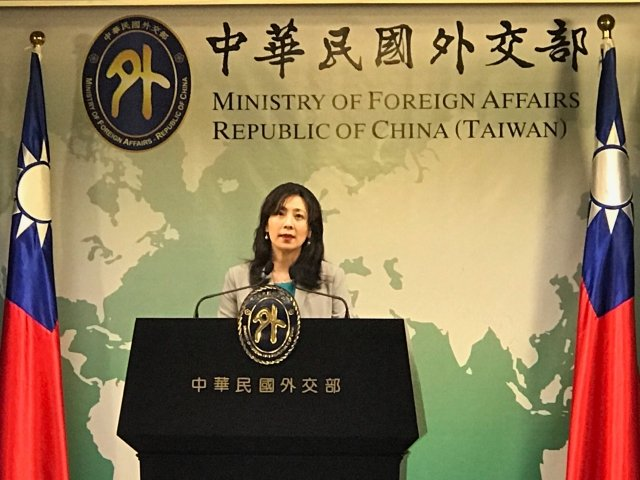 有關給予香港人道救援,外交部發言人歐江安13日指出,將遵照府方指示,配合相關單位辦理。(記者李怡欣/攝影)