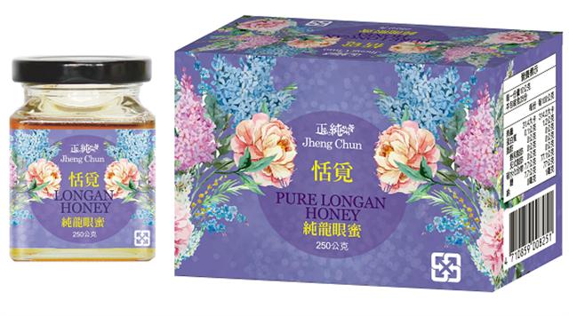 正純食品的正純蜂蜜系列,主要特色產品還是純龍眼蜜,備受大眾消費市場青睞。(正純食品提供)