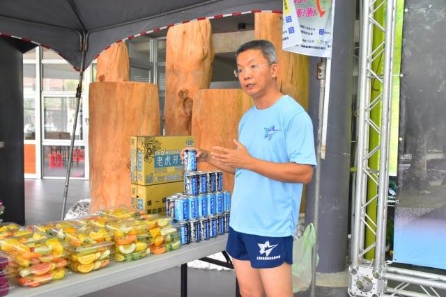 跑馬拉松可享受安農溪的美,更有13攤特色美食可以享用,其中包括三星有名的櫻桃鴨3。