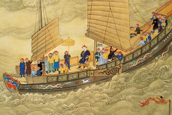 如果沒有神風相助,斷然無法在一夜之間,全數殲滅海盜。事後,嘉慶皇帝認為,是精誠感動了神明相助,因而在松門敕建天后宮、龍王廟,以奉祀神明。(公有領域)
