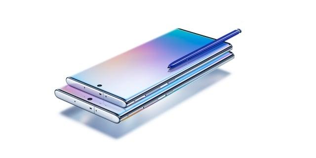 Galaxy Note系列首度以雙尺寸登場。(三星提供)