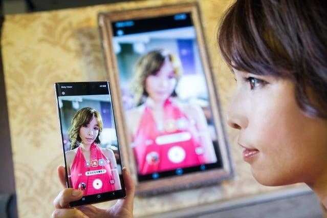 Galaxy Note10系列支援景深特效攝影。(三星提供)