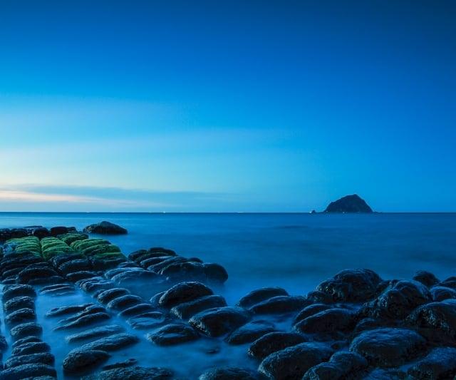和平島礁石。(交通部觀光局提供)