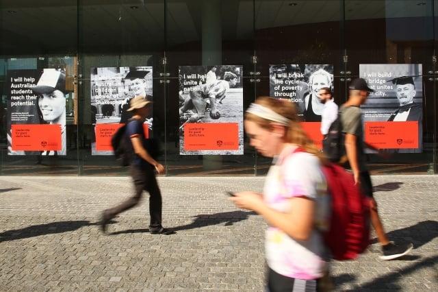 中共透過在全球學校設置孔子學院及孔子學堂,輸出中共認可的文化及價值觀。圖為雪梨大學附近。(Getty Images)