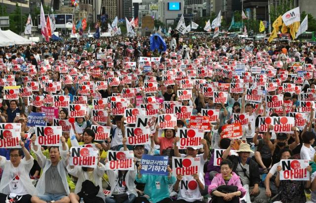 日本考量國家安全,週三宣布將韓國排除在適用貿易優惠「A集團」(白名單國家)之外。圖為示意照。(Getty Images)