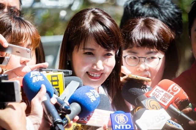 郭幕僚、永齡基金會副執行長蔡沁瑜28日表示,目前郭台銘不排斥與任何政黨、個人合作。圖為資料照。(記者陳柏州/攝影)