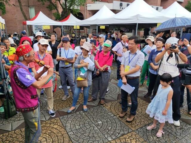 2019台東街頭藝人認證活動,1日在文化處藝文中心廣場舉行。(台東縣政府提供)