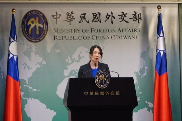 外交部發言人歐江安3日表示,美台首度在12日舉辦「印太治理諮商」論壇。(記者李怡欣/攝影)