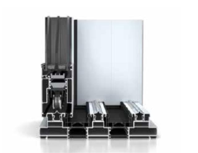 優化開啟扇之間的勾企配置,提高隔熱性能和氣密性及抗風壓性能佳。(平準工程提供)