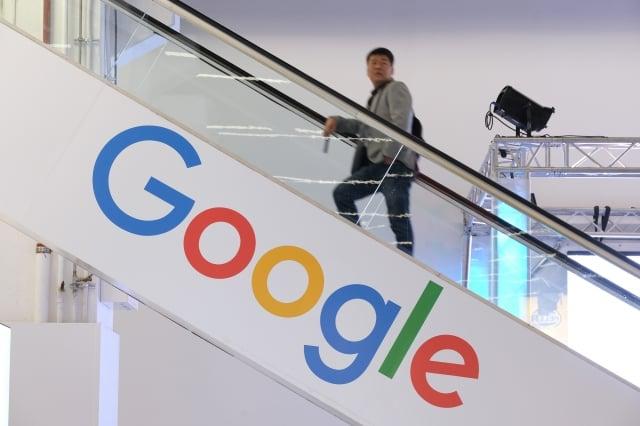Google11日正式宣布已於台南購地,以因應未來在台資料中心的營運需求。(Sean Gallup/Getty Images)