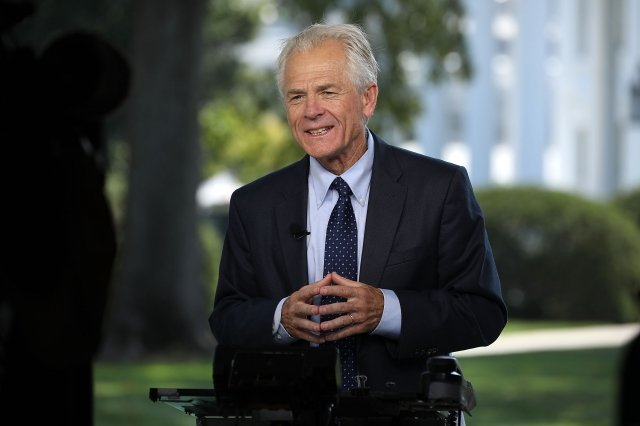 白宮顧問納瓦洛(Peter Navarro)。( Chip Somodevilla/Getty Images)