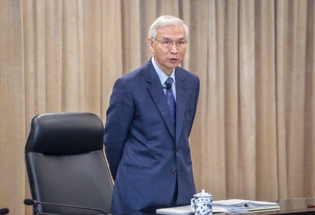 央行總裁楊金龍(圖)宣布,利率「連13凍 」。(中央社)