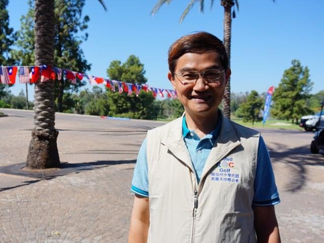 駐洛杉磯經文處長朱文祥曾於2012年到2015年擔任駐吉里巴斯大使。(中央社)