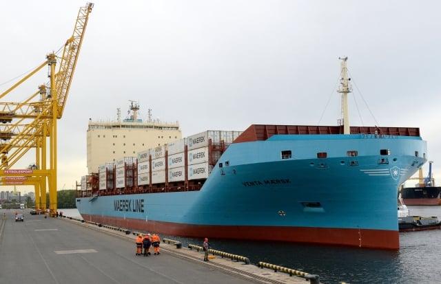 美中貿易矛盾,在短時間內,難以得到解決,韓國對中國大陸中間產品出口,可能因此受到直接衝擊。圖為韓國貨船。(OLGA MALTSEVA / AFP)