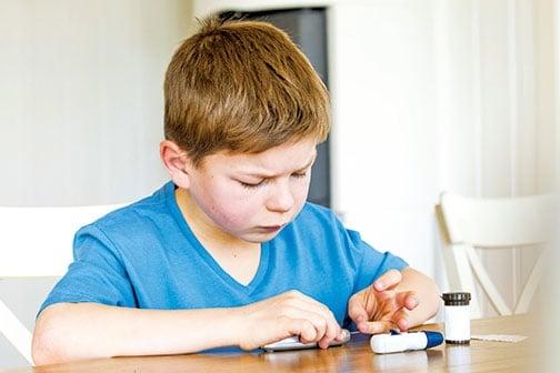 今天中、小學生出現的糖尿病,和飲食關係很大。(Fotolia)