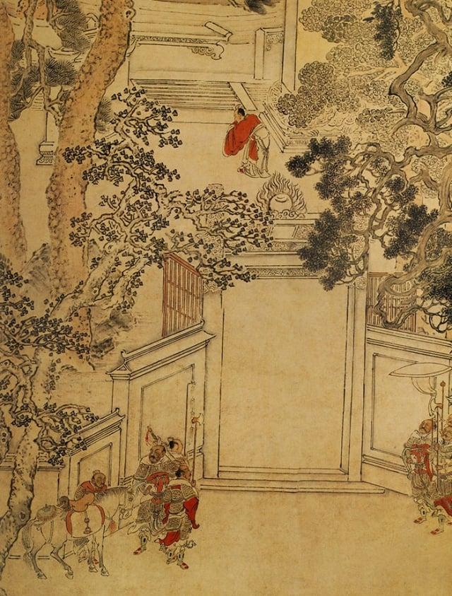 圖為明 張宏《延陵掛劍圖》。(維基百科)