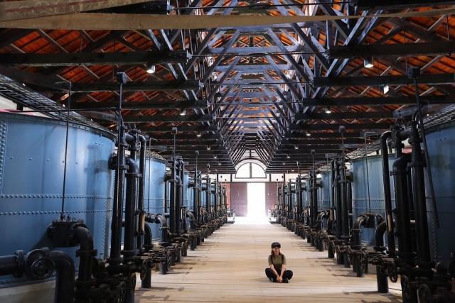 山上花園水道博物館。(台南市政府觀光旅遊局提供)