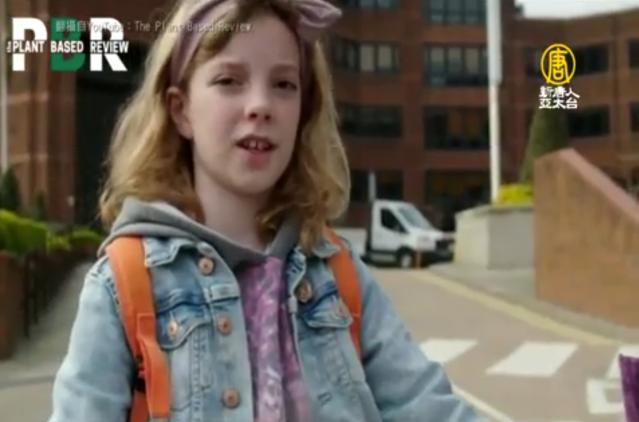 英國9歲女生Ella與妹妹發起聯署,呼籲漢堡王跟麥當勞停止贈送塑膠玩具,獲得漢堡王正面肯定。(新唐人電視台)