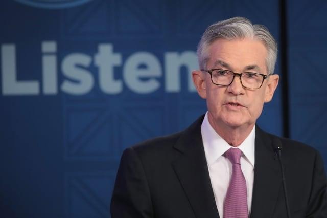 聯準主席鮑爾8日表示,聯準會不久後將再次擴大資產負債表,避免貨幣市場再次出現動盪,但他強調這不是量化寬鬆。(Getty Images)