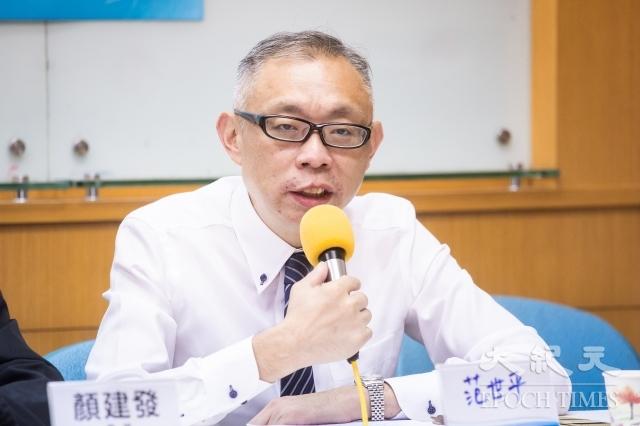 台灣師範大學政治學研究所教授范世平。(記者陳柏州/攝影)