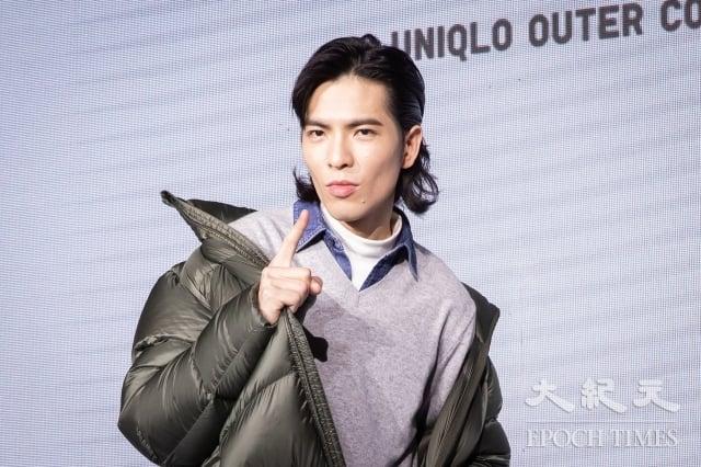 蕭敬騰23日出席日系服飾品牌代言活動。(記者陳柏州/攝影)