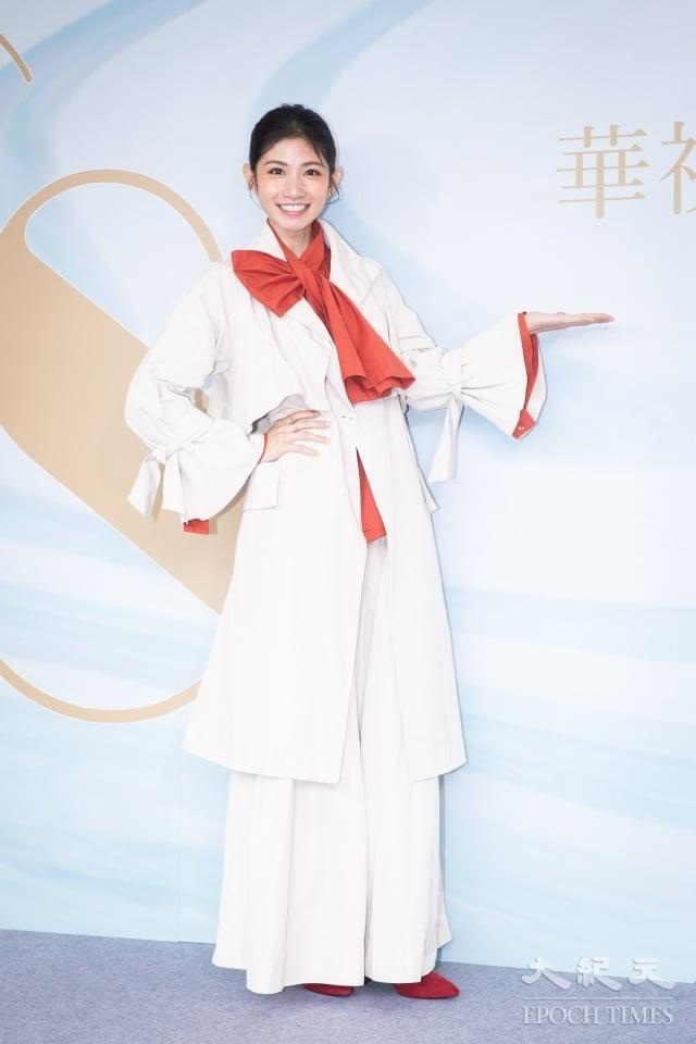 李千那出席華視48周年台慶。(記者陳柏州/攝影)