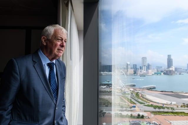 末代港督彭定康表示,香港回歸22年以來,中共政府的所作所為,造就了一代想要獨立的香港人。圖為資料照。(AFP)