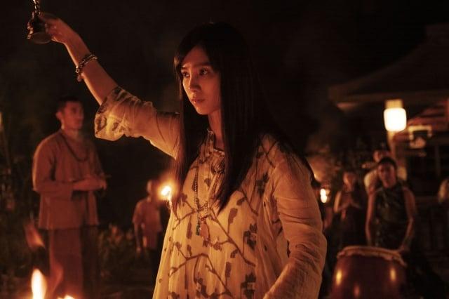 温貞菱在通靈少女2飾演仙姑一角