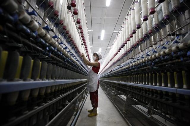 中共明年統一核算各省GDP。(AFP)