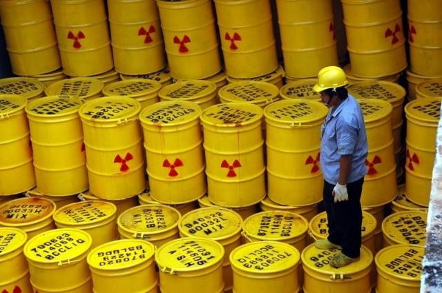 蘭嶼達悟族人在不知情之下被存放核廢料,將獲得25.5億元補償。圖為資料照。(中央社)