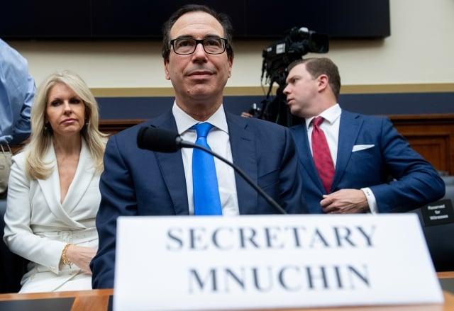 美國財政部長梅努欽12月5日在眾議院聽證會上表示,世界銀行應將中共從低息貸款計畫中剔除。(AFP)