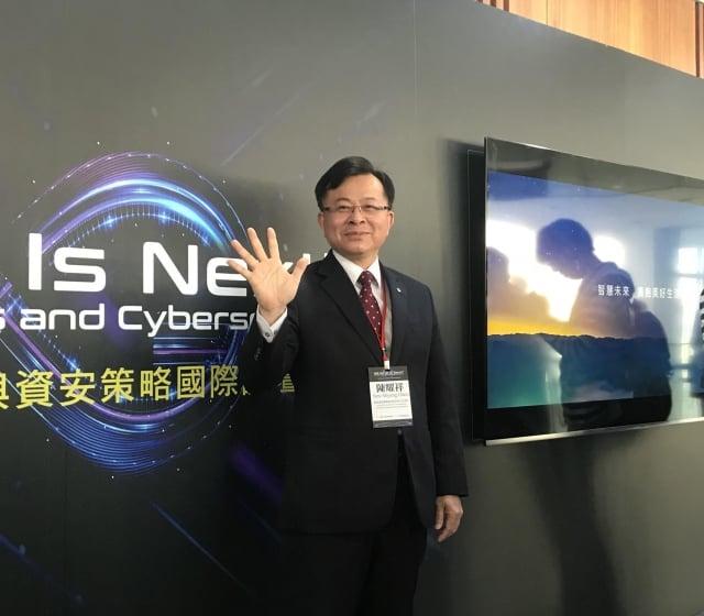 NCC代理主委陳耀祥表示,此次數量競價預計兩週後就會有結果。(記者賴玟茹/攝影)