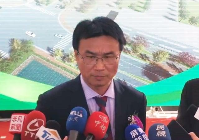 農委會主委陳吉仲13日表示,印尼農業部證實北蘇門答臘省爆發非洲豬瘟疫情。(中央社)