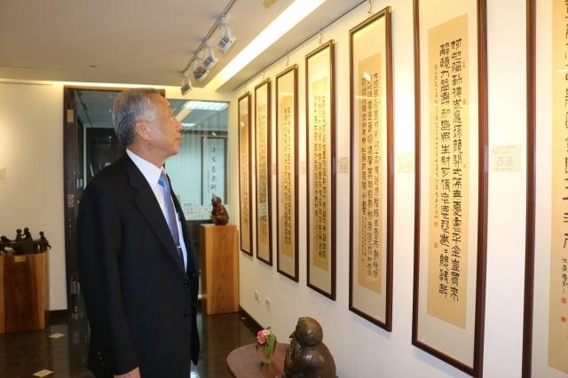 三千金屬工業董事長 姚啟甲。(攝影/吳雁門)