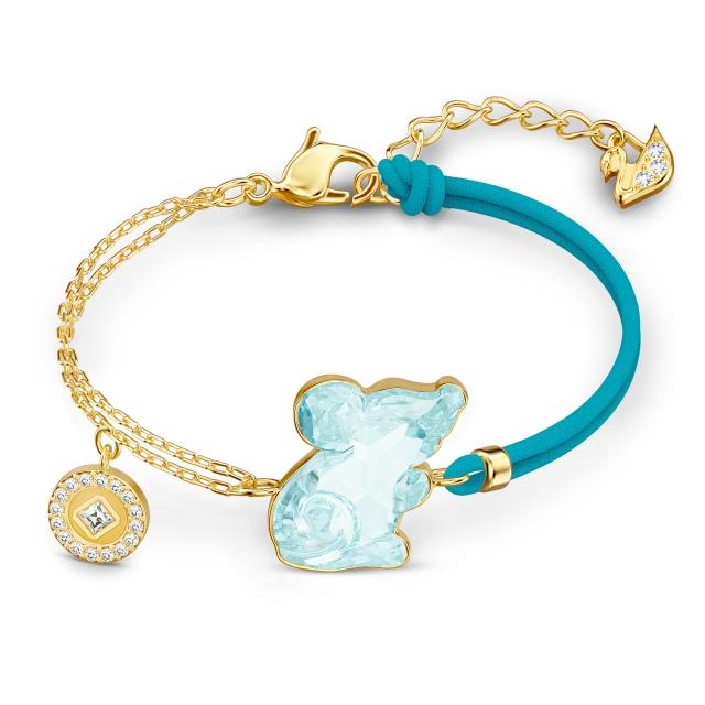 水晶鼠與銅錢手鍊,取其「富庶」諧音之意。