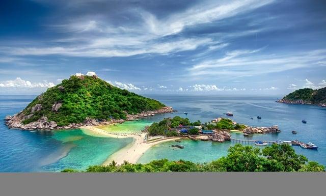 濤島原始安靜,遠離人群。(Shutterstock)