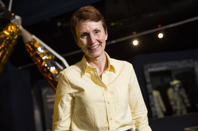 圖為英國首位宇航員海倫·沙曼(Helen Sharman)資料照。(Jack Taylor/Getty Images)