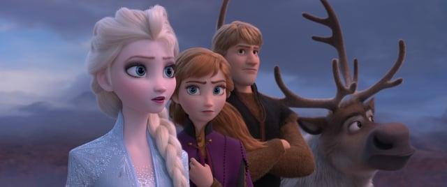 《冰雪奇緣2》劇照。(迪士尼提供)