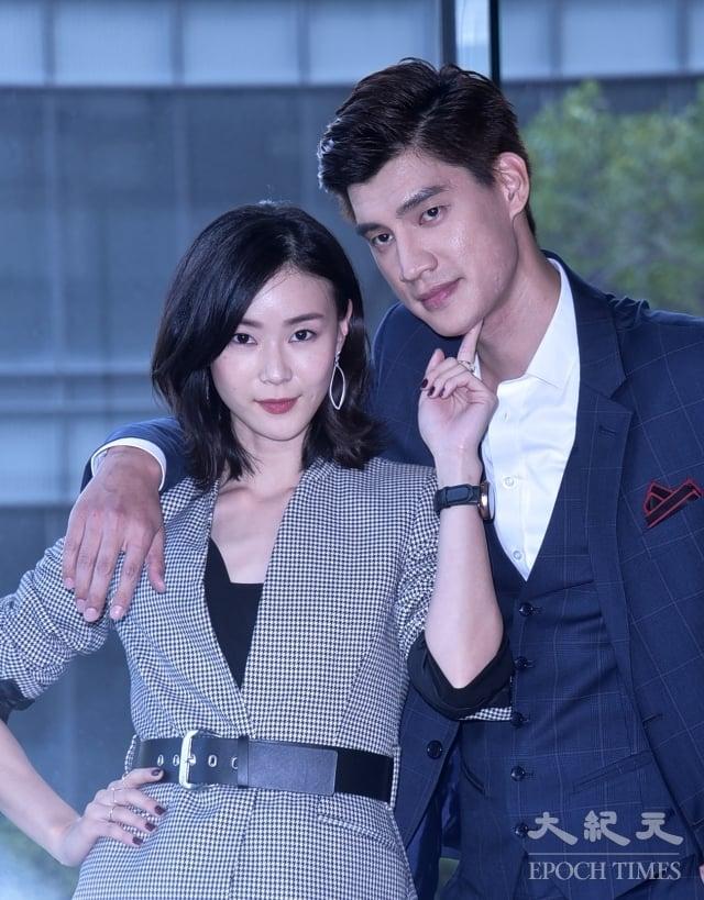 鍾瑶(左)、羅宏正(右)。(記者黃宗茂/攝影)