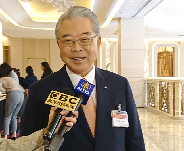 三三會理事長許勝雄15日表示,樂觀看待2020年台灣經濟。(中央社)