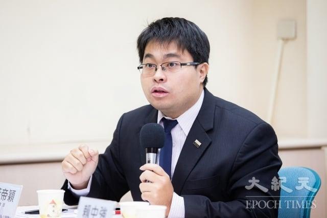 律師黃帝穎。(記者陳柏州/攝影)