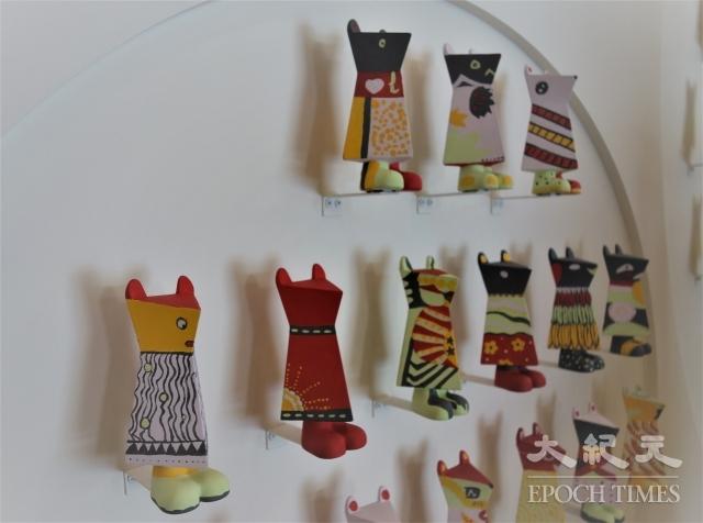 高雄市立美術館年度盛事──「感動鼠」特展學生作品。
