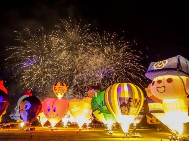 台東縣政府公布2020年台東熱氣球嘉年華將於7月11日展開。
