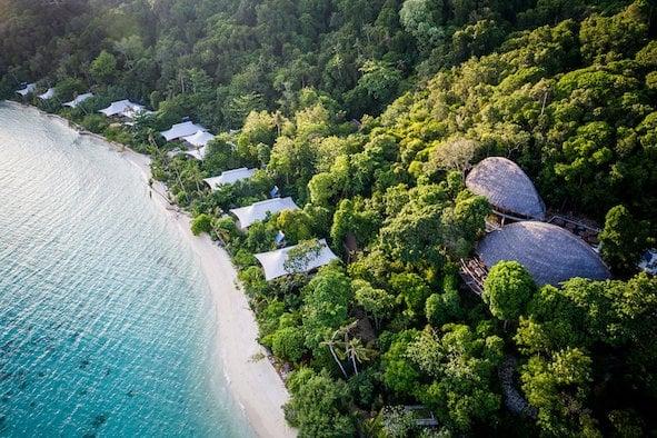 印尼阿南巴斯群島,是一個保留原始自然生態的無汙染地區。(業者提供)