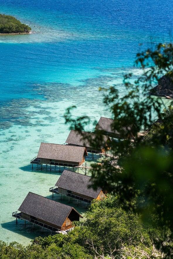 在僻靜的私人島嶼上度過一天,遠離繁囂世界。(業者提供)