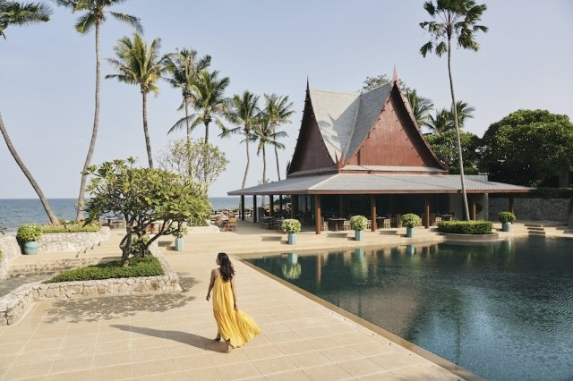 泰國度假村中,享受紓壓的旅程。(業者提供)