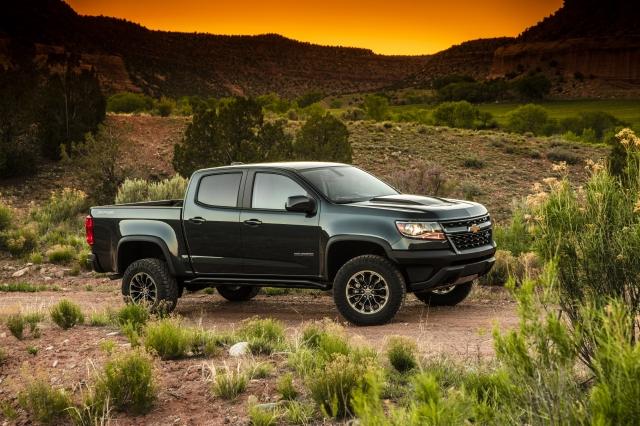 圖為雪佛蘭科勒拉多(Chevrolet Colorado)輕型卡車。(GM.com)