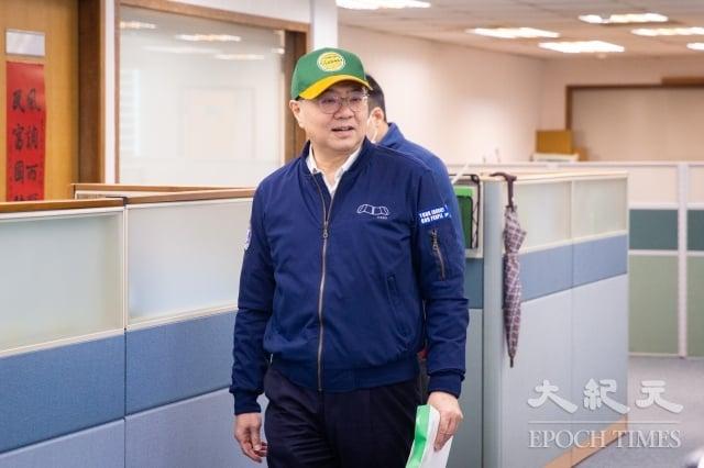 民進黨主席卓榮泰26日出席民進黨中常會。(記者陳柏州/攝影)